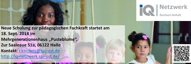 (Deutsch) Neue Termine für die Qualifizierung zur pädagogischen Fachkraft